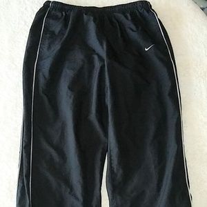 Nike Lined Track Pants Size Large
